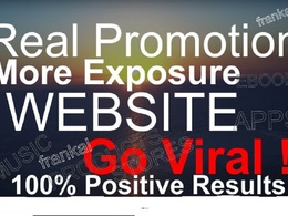 Promote your website/ebook/apps/store/music or video