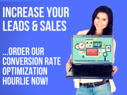 Help you increase conversions on your website/landing page