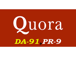 "Write & Publish A Guest Post On ""Quora"" DA-93, Alexa-494"