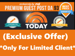 Publish Guest Post on Today.com DA 93 (Only 3 days Left)