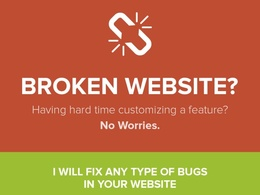 Fix html, css, javascript, jquery, php issue, bug or error