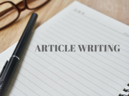 Write up to 500 words Article/blog post content with research
