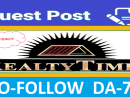 Publish Guest Post On Realtytimes Home Niche Blog DA-70