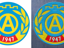 Convert your logo into embroidary image