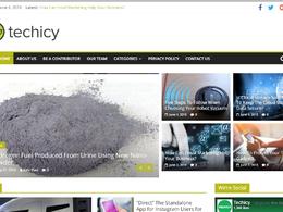 Guest post on Techicy.com Tech website - DA 50