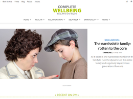 Guest post on Completewellbeing.com Health website – DA48