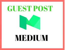 Do guest post on medium DA 93