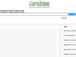 Guest post on Curezone.org Health website – DA57