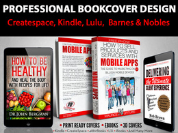 Design CREATIVE book cover for Print ready and ebook