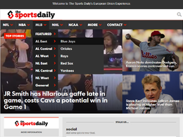 Guest post on Thesportsdaily.com sports website - DA 52