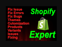 Fix, Customize, Code And Create Your Shopify Store