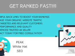 Rank you fast with this safe and powerful SEO link building