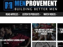 Guest post on MENPROVEMENT.COM DA50 Dofollow-Men News Site