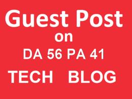 Publish A Guest Post On Technology Blog Da 56 PA 41