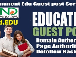 Guest Post on University North Dhakota- DA85 TF60 Dofollow blog