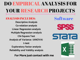 Do statistical and Research analyses in SPSS