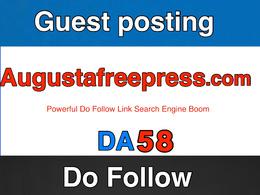 Guest post on augustafreepress – augustafreepress.com – DA 58