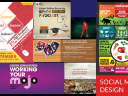 Design a social media advertise