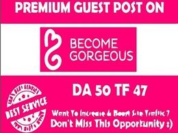 DOFOLLOW Guest Post on Becomegorgeous DA-58