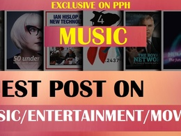 Top 5 High Quality Music Entertainment dofollow guest post