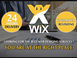 Develop Wix Website Professionally In 24 Hours