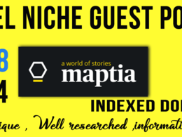 Write & Publish A dofollow Guest Post On Maptia. com