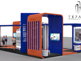 Design a Exhibition Stand, Kiosk, Food Truck