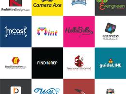 Design Logo Brand+Unlimited Revision+Source Files