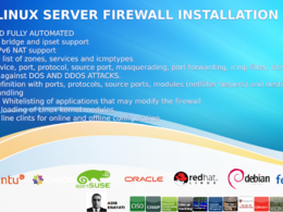 Install Firewall For Linux Servers