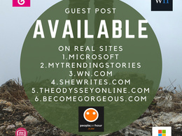 Do quality Guest Posting On Real Sites