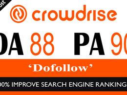 "Write And Publish Guest Post On ""Crowdrise"" DA-87 | Dofollow"