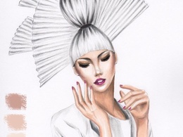 Create beautiful fashion illustration