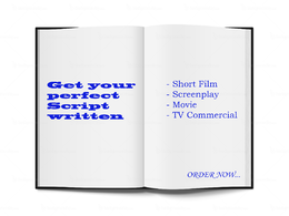 Write script for short film, screenplay or movie