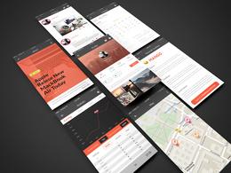 Design High End UI design For Your Web Design Apps Design