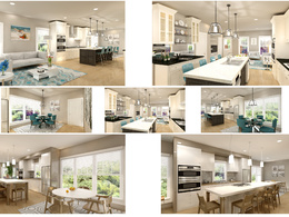 3 x 3D Interior Rendering of your project
