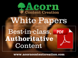 Deliver a captivating, first-class white paper of 5000 words