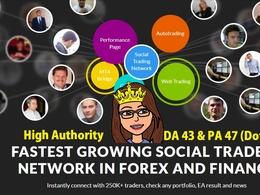 High quality Forex/Finance Niche Guest Post DA 43 -Dofollow Link