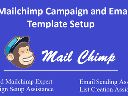 Be Your Mailchimp Expert and/or Can send your Emails