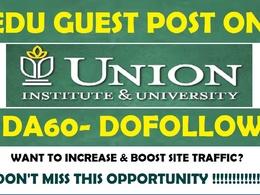 Guest Post on Union Institute & University - myunion.edu - DA 60