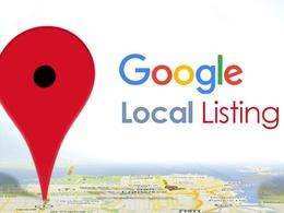 Do 30 Google Local Citations Or Local Listings For USA Business