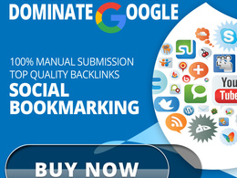 25 High Authority SEO Bookmarking backlinks from High DA sites