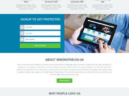 Design your business website homepage/landing page (PSD)