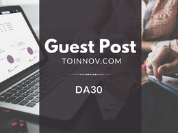 Guest Post on ToInnov.com DA30 |Cryptocurrency |Blogger Outreach