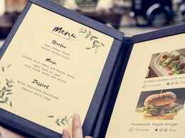 Design a Beautiful, eye catching Menu/Catalgue