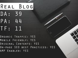 Publish Your Post on Technology Blog DA 40