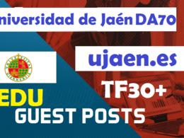 Universidad de Jaén( Jaen University)-  ujaen.es  DA70+ blog