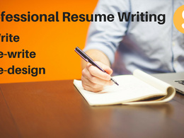 Write, rewrite or re-design your resume