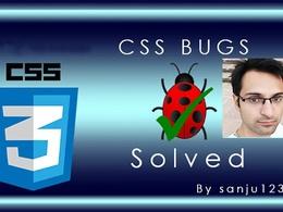 Fix HTML, CSS, Wordpress, Squarespace, Wix Issues