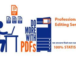 Professionally Edit Your PDF Document