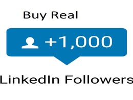 Boost your Linkedin profile or Page with 1000 people